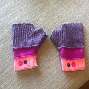 Urban Outfitters Fingerless Gloves Patchwork